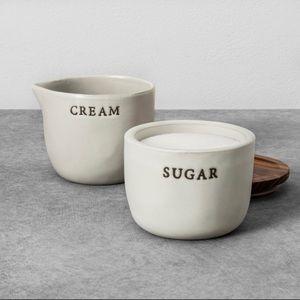 Hearth & Hand Stoneware Sugar Cellar